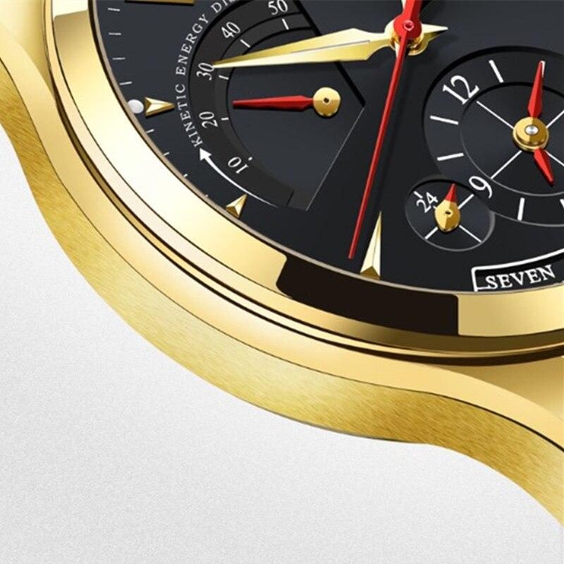 Carnival จอแสดงผลพลังงานอัตโนมัตินาฬิกาผู้ชายหรูหรานาฬิกาผู้ชายแบรนด์นาฬิกาสายหนังแท้ montre saat-ใน นาฬิกาข้อมือกลไก จาก นาฬิกาข้อมือ บน   2