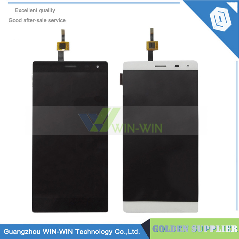 ФОТО Black/White For THL T7 LCD Display + Touch Screen Assembly Replacement for thl t7 lcd touch screen digitizer free shipping