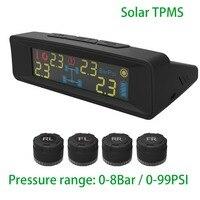 الشمسية tpms عجلات الاطارات أداة تشخيصية-مع الخارجية الاستشعار السيارات اللاسلكية العالمي tpms الضغط 8bar