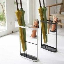 052422 Железный художественный креативный зонтик, европейский стиль, семейный зонтик, подставка