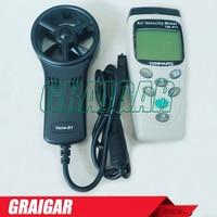 TM 411 High sensitive reaction Memory call display Anemometer wind meter tester gauge