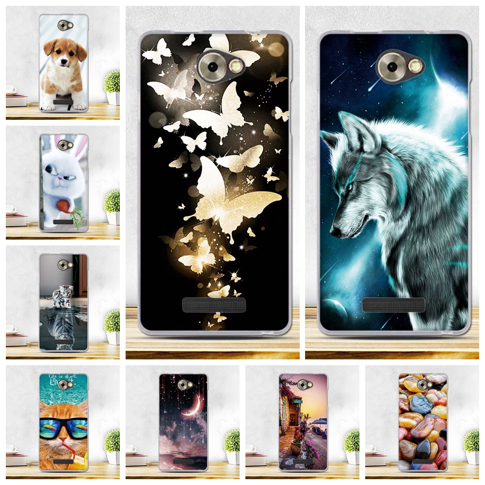 Soft Silicone TPU Case for BQ Magic BQS-5070 S5070 Colorful Painting Soft TPU Gel Phone Back Cover For BQ S 5070 BQS5070 Case