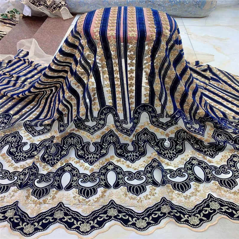 High Quality  Lace 2019 Latest African Lace Fabric for  Wedding and party  Lace Fabric