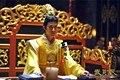 ТЕЛЕВИЗОР Играть Императрица Китая Lizhi Же Дизайн Тан Император Повседневная Костюм Желтый
