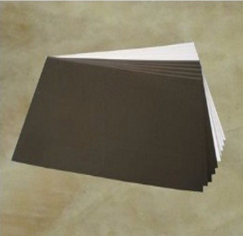Photo book making supplies : 200pcs photo book <font><b>PVC</b></font> double side adhesive mounting <font><b>sheets</b></font> 310x450x1mm image
