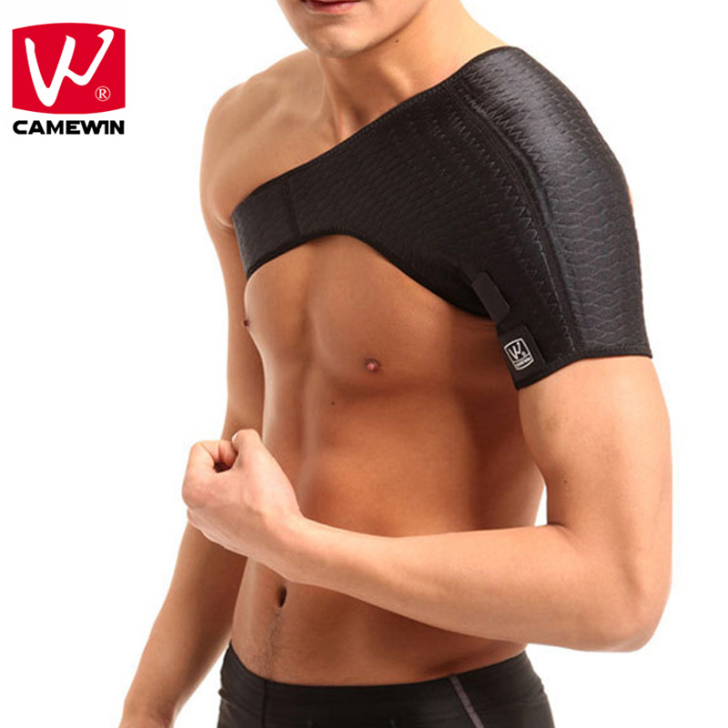 CAMEWIN Brand 1 Piece Shoulder Support Shoulder Back Support Belt for Men Women Braces & Supports Belt Shoulder Guard