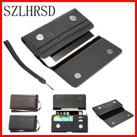Men Belt Clip Leather Pouch Waist Bag Phone Cover For UMI Hammer S Max Iron Pro