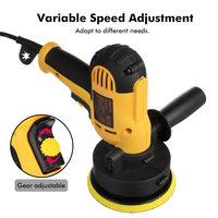 700W Adjustable Speed Electric Car Polisher Waxing Machine 3700rpm Auto Polishing Machine Sanding Waxing Tools Car Accessories