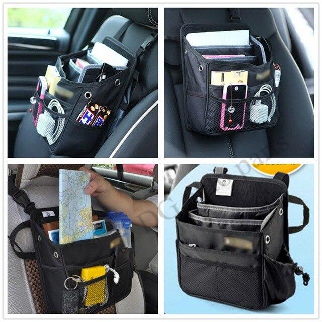 Car Styling Novel Holder Cup Organizer Auto Pocket Storage Bag Vehicle Seat Front Hanger