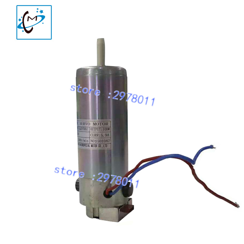 Step Motor spare part for Infiniti FY-3312C / FY-3208C Aprint  Challenger Printers large format printer  DC 24V servo motor free shipping ink buffer bottle for large format printer aprint polaris printer