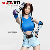 CT013 1/6 Scale Sexy Female Fighting Clothes Suit Clothes Set & Head Accessory Model for 12'' Action Figure Body Accessories