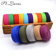 DIY New colourful 20mm chevron 100% cotton ribbon webbing herring bonebinding tape lace trimming for packing accessories