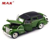 Goedkope Model Auto Speelgoed 1/32 Schaal Legering 1938 Fleetwood Klassieke Auto Antieke Auto Model Display Model