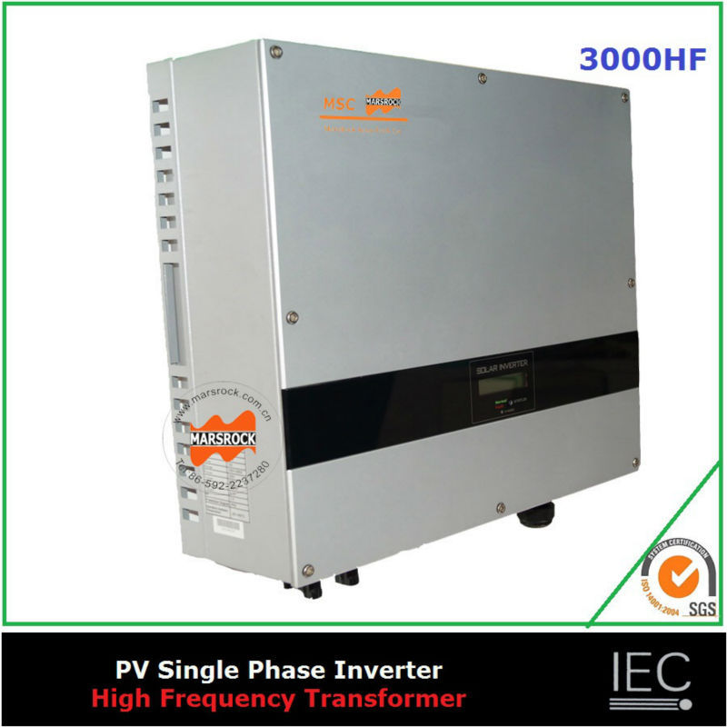 3000W on grid HF transformer solar inverter single phase DC AC 220V 230V 240V sound control normally open single phase solid state relay ssr mgr 1 d48120 120a control dc ac 24 480v