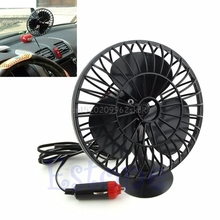 12V Powered Mini Truck Car Vehicle Cooling Air Fan Adsorption Summer Gift C45 #H029#