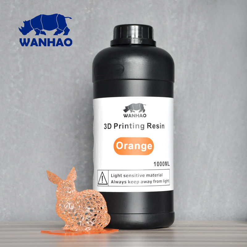 UV photopolymer resin light activated resin for LCD SLA 3d printer Wanhao Duplicator 7 D7 2000