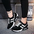 Leisure Sportif Women Single Shoes Cross Straps Comfortable Thick Base Running Shoes Solid Fashion New Spring Women Casual Shoes