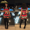 Mulheres Sexy Macacões Bodycon Bandagem Verão Sexy Imprimir Duas Peças Shorts Jumpsuits Das Senhoras Macacões Nightclub Partido Macacão