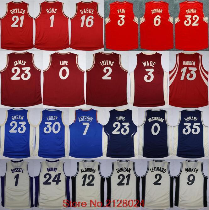 huge selection of d533b c63f9 2016 Christmas Day Basketball Jerseys XMAS 1 Derrick Rose 1 ...