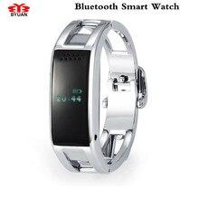 Mädchen der Bluetooth Smart Uhren Uhr Klassische Gesundheit Metall Smartwatch für Für iPhone/Samsung Phone Smart Band HTC Digitale uhr