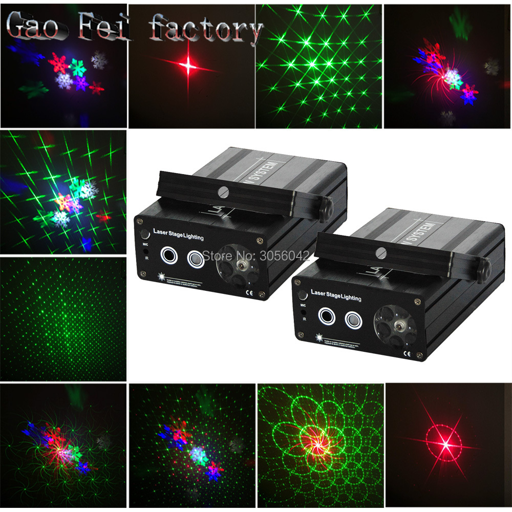 Trustful 2pcs/lot Mini Red Blue Moving Outdoor Laser Star Projector Garden Xmas For Laser Projection Christmas Lights Delicacies Loved By All Stage Lighting Effect