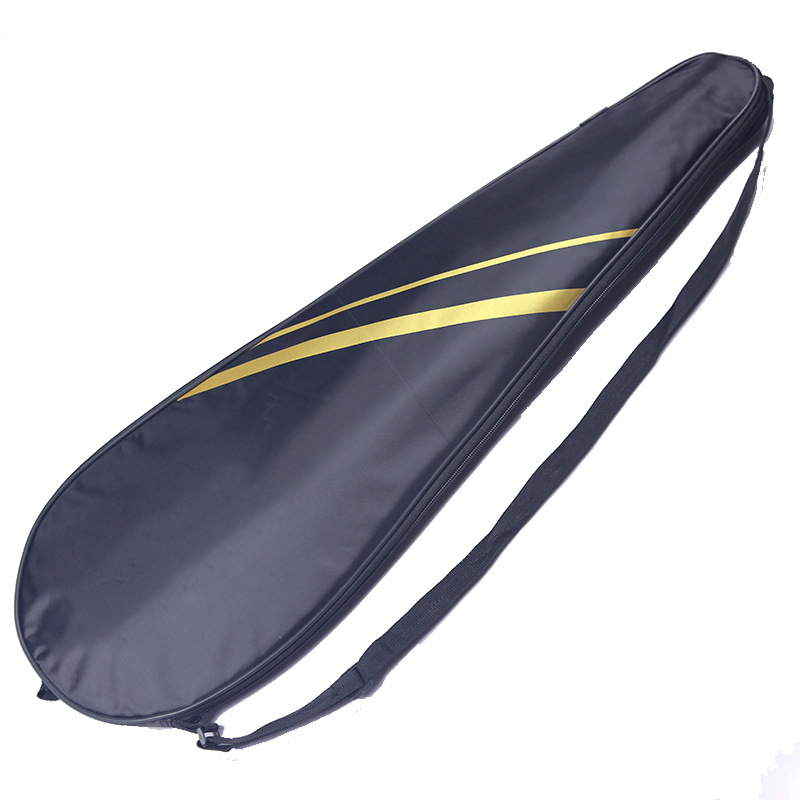 Large Capacity Racket Cover Badminton Adult Children Single Shoulder Racquette Sports Bag For Training Fit 2 Racquets