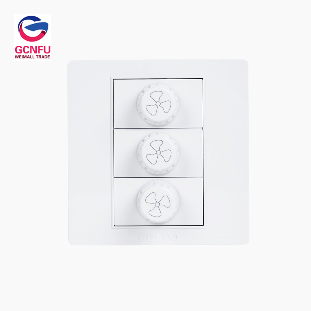 3-speed-regulating Switch Fan Suspension Knob Controller Switch Panel Concealed3-speed-regulating Switch Fan Suspension Knob Controller Switch Panel Concealed