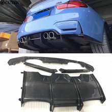 F80 M3 F82 M4 Carbon fiber rear diffuser Car body kit for BMW PSM Style 15-17