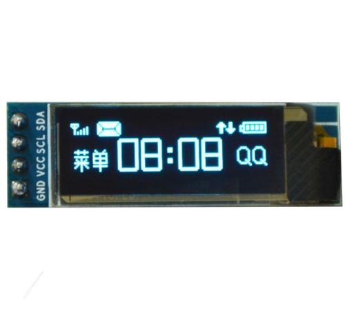 IIC I2C 0.91128x32 Blue OLED LCD Display Module 3.3v 5v FOR AVR Arduino 1 3 128 x 64 blue color oled display module w i2c interface for arduino rpi avr arm pic