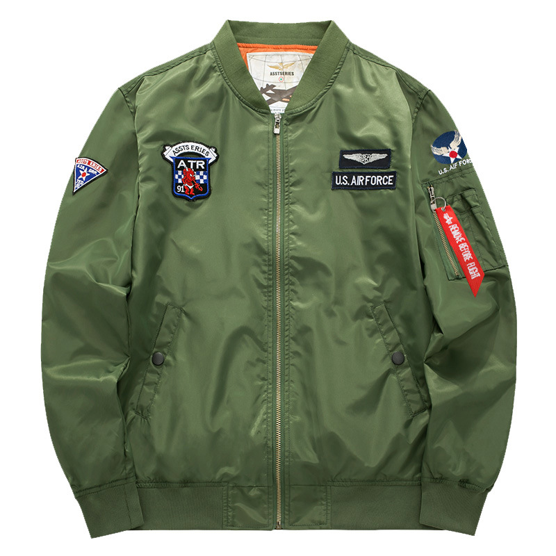 MA1 Men Winter Warm Military Airborne Flight Tactical Bomber Jacket Army Air Force Fly Pilot Jacket Aviator Motorcycle Down CoatMA1 Men Winter Warm Military Airborne Flight Tactical Bomber Jacket Army Air Force Fly Pilot Jacket Aviator Motorcycle Down Coat
