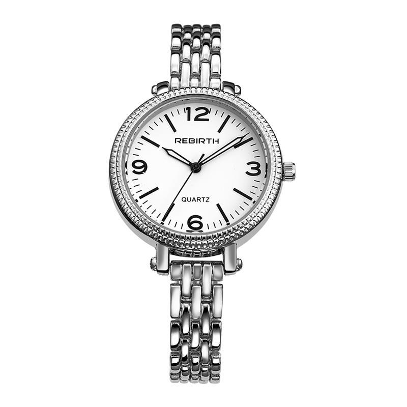 2017 रिजोज़ मूजर स्टेनलेस - महिलाओं की घड़ियों