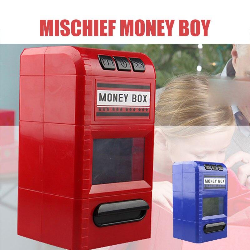 Stockage d'argent banque tirelire jouet économie d'argent boîtes tirelire déchiqueteuse plastique Simulation chanter chanson cadeaux plaisir électronique