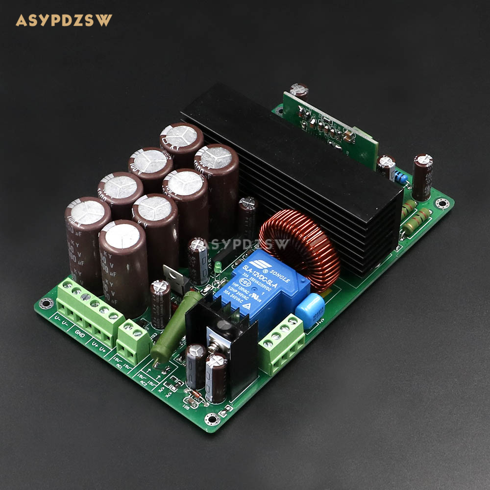 HIFI High Power IRS2092+IRFB4227 Class D Mono Digital power amplifier board 1000W Stage power amplifier board tas5630 amplifier class d board high power finished boards mono 600w for subwoofer or full range diy free shipping