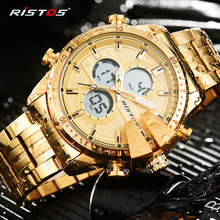 Hot Masculino Multi-Time Watch