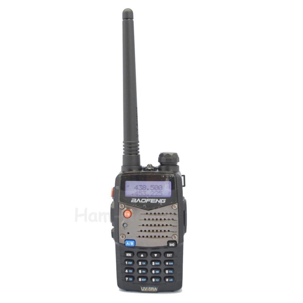 BaoFeng UV-5RA walkie taklie transceiver 5 W VHF UHF Dual Band 136-174/400-520 MHz Ham CB FM two way radio Free auricolare