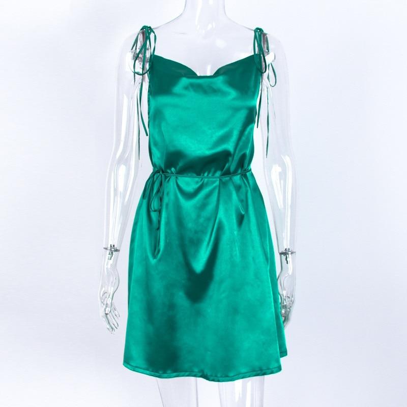 satin strappy dress19