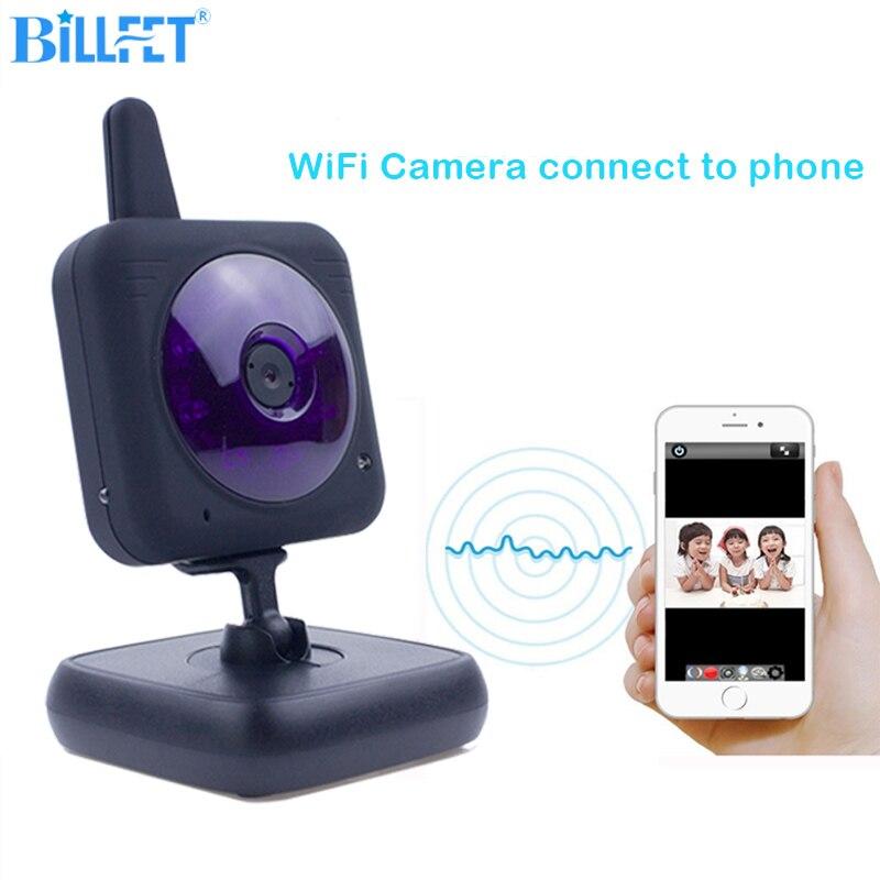 360 градусов видео Камера Смарт Wi-Fi Камера Товары теле- и видеонаблюдения вебкамеру WiFi babycam сети Крытый Видеоняни и радионяни babyfoon Камера