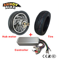 13 Inch 72V 84V 96V 120V 5000w High Speed 110km/h Electric Motorcycle Wheel With matched Controller DIY Electric Conversion Kit