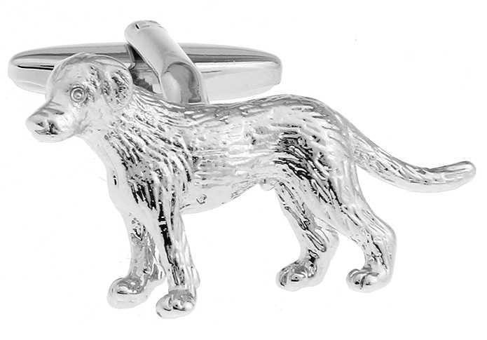 IGame 3D Собака Запонки для мужчин качество латунный материал прекрасный стиль животных Бесплатная доставка