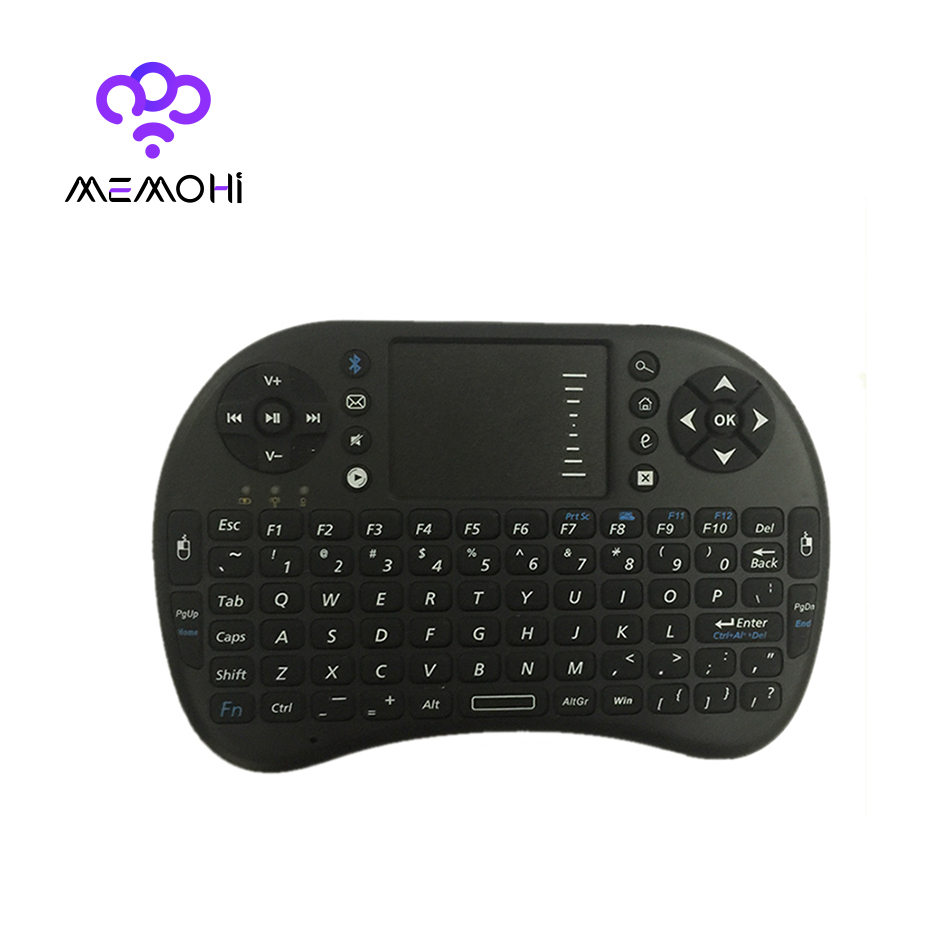 Bluetooth Keyboard For Android Box: 500BT Mini Bluetooth Wireless Keyboard Mouse Combo English Remote Control For Android TV Box
