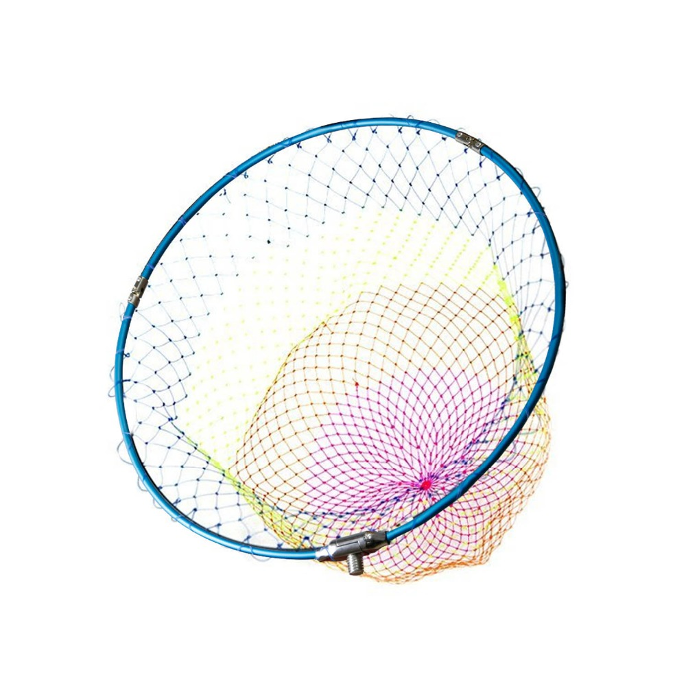 SANLIKE Fishing Landing Net 12mm Screw Aluminum Alloy Telescope Foldable Extending Frame