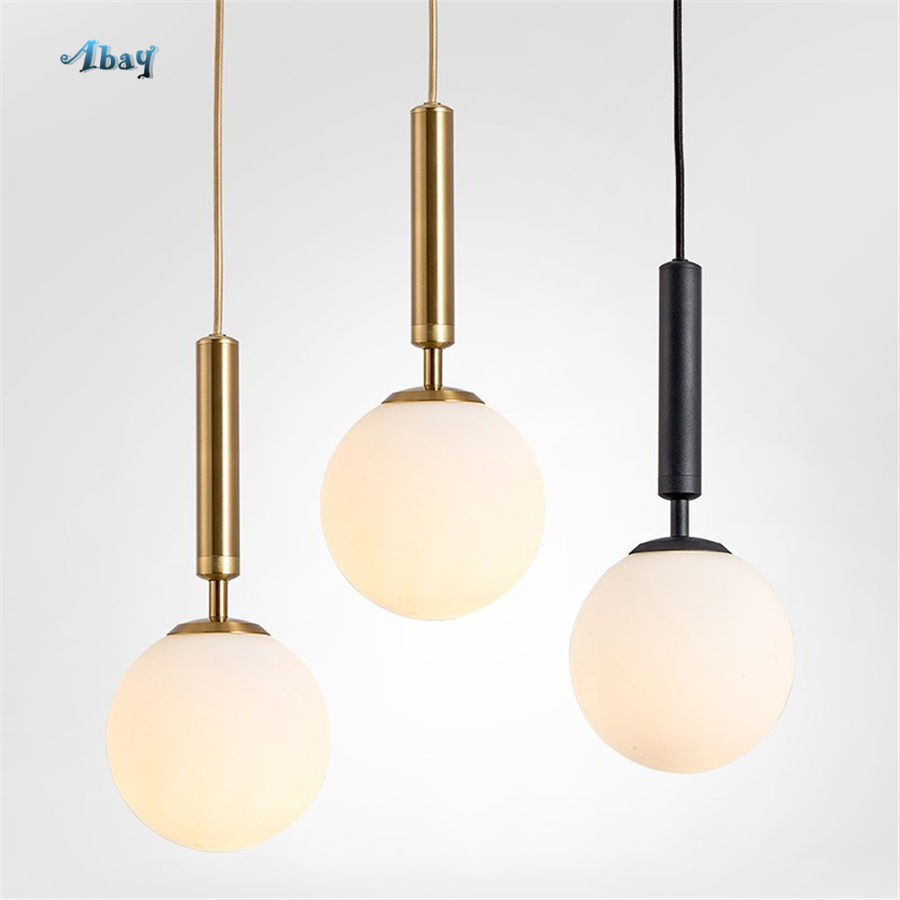 nordic Frosted glass globe ins pendant lights for bedroom living room modern home deco hanging lamp store bar led light fixturesnordic Frosted glass globe ins pendant lights for bedroom living room modern home deco hanging lamp store bar led light fixtures