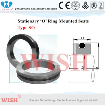 3.00 inch O-Ring mounted type SO stationary seat material Silicon carbide