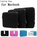 2016 moda impermeável Laptop manga 11 12 13 14 15 bolsas para Laptop Notebook caso para Macbook Air Pro Laptop sacos, Sku 0138 G