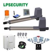 LPSECURITY 4 пульта дистанционного управления распашные ворота открывалка электрические ворота двигатели для распашных ворот линейный привод с