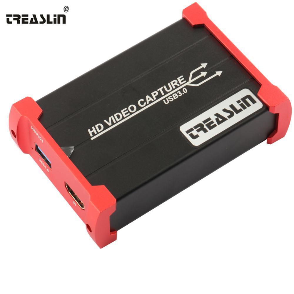TreasLin HDMI Game Capture Card USB 3.0 Video Capture