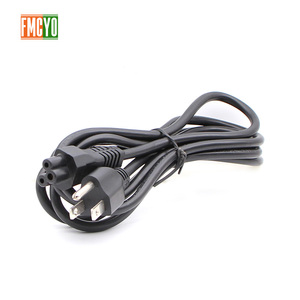 Image 3 - US 1.5m IEC C5 Power Cord 0.75mm2 Cloverleaf Power Supply Lead Cable For Notebook/Laptop/AC Adapters