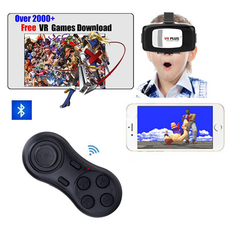YOTEEN Bluetooth Gamepad iOS Android VR Game Controller Joystick Selfie Shutter Remote Control for Phone PC TV box Smart TV Game 10