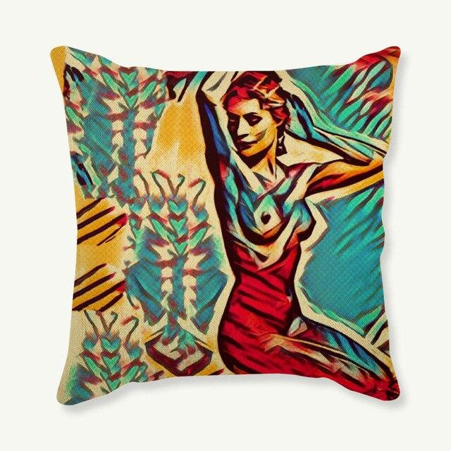 Pop Art Cushion Cover 4