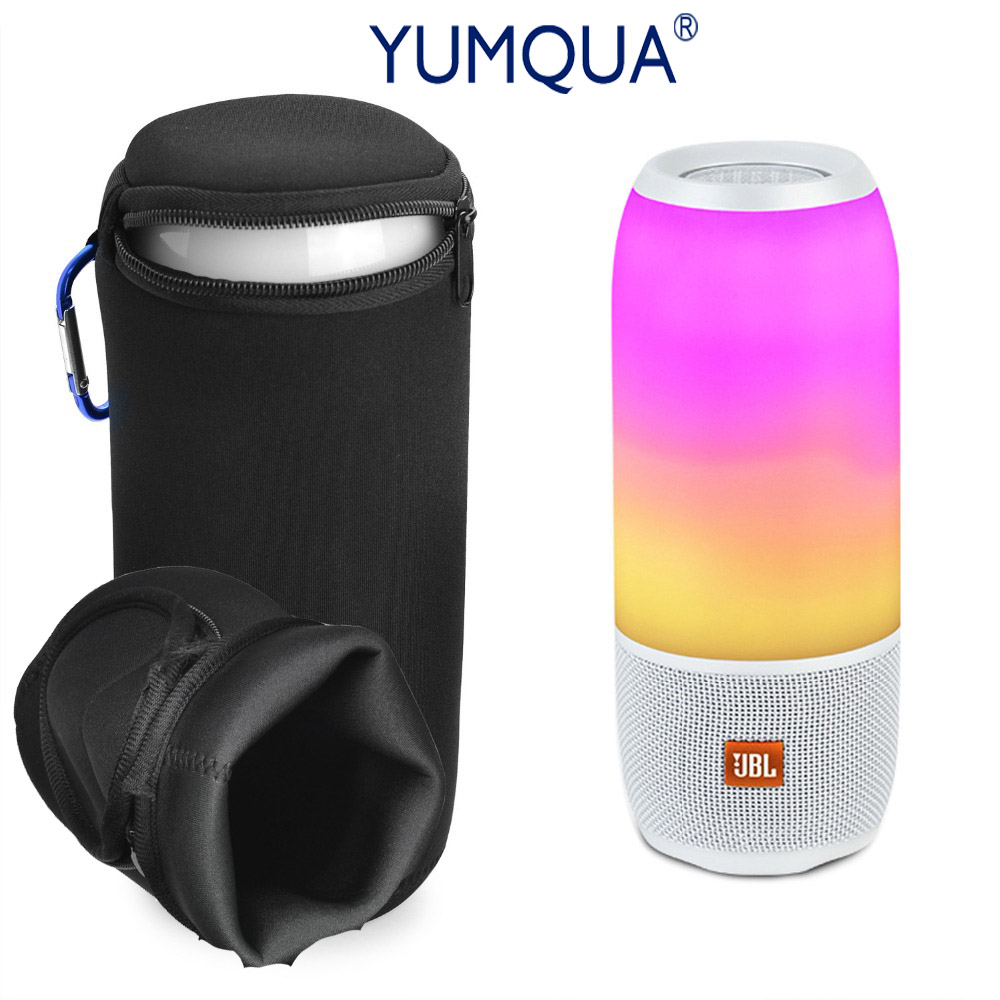 YUMQUA Case Brand Outdoor Soft Shell Cover for JBL Pulse 3 Carrying Case Speaker Portable Protection Travel Mini Pulse3 Handbag